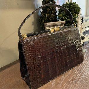 Vintage Bellestone Crocodile bag